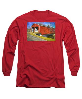 Roberts Covered Bridge Long Sleeve T-Shirt