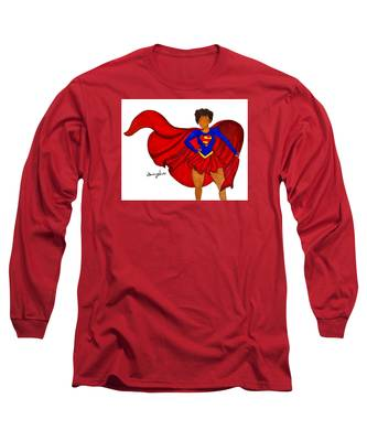 Superhero Long Sleeve T-Shirts