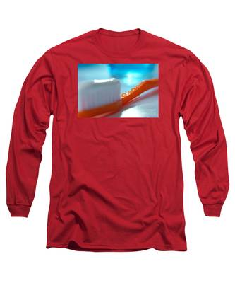 Toothbrush Long Sleeve T-Shirt