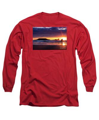 Wales Gower Coast Helvetia Long Sleeve T-Shirt