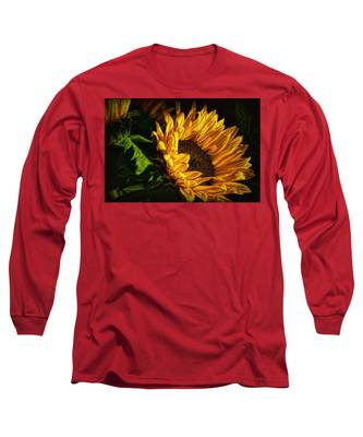 Warmth Of The Sunflower Long Sleeve T-Shirt