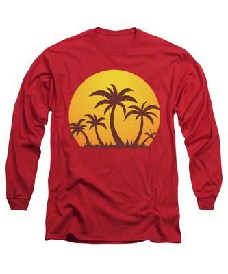 Island Long Sleeve T-Shirts