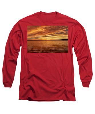 Percy Priest Lake Sunset Long Sleeve T-Shirt