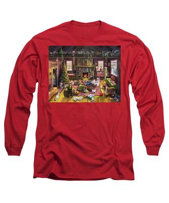 The Micey Christmas Heisty Long Sleeve T-Shirt