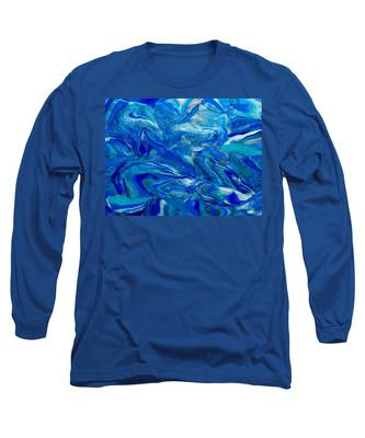 Icy Blue Long Sleeve T-Shirt