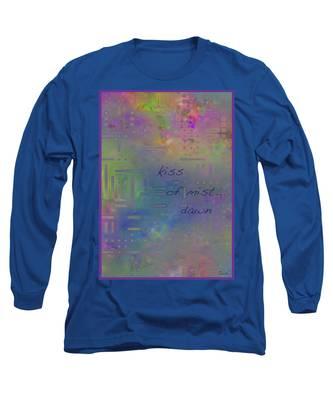 Kiss Of Mist Haiga Long Sleeve T-Shirt