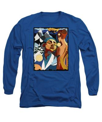 Life Of Roy Painting With Hidden Pictures Long Sleeve T-Shirt