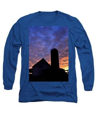 Barnyard Sunrise I Long Sleeve T-Shirt