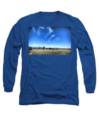 Point Of Pines - San Carlos Indian Reservation Long Sleeve T-Shirt
