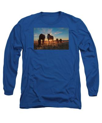 Sunset Band Long Sleeve T-Shirt