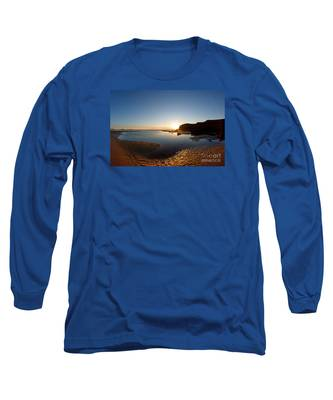 Beach Textures Long Sleeve T-Shirt