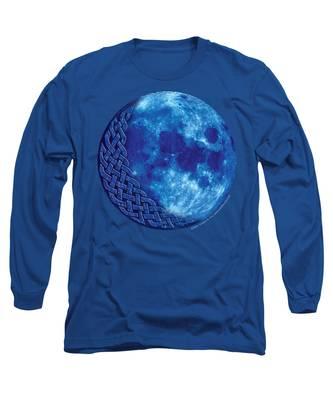 Celtic Blue Moon Long Sleeve T-Shirt