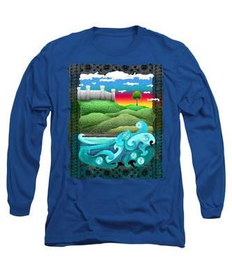 Celtic Castle Tor Long Sleeve T-Shirt