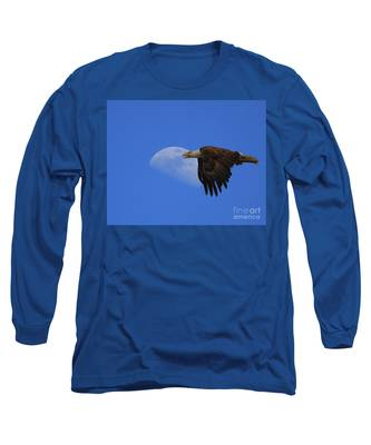 Eagle Moon Long Sleeve T-Shirt