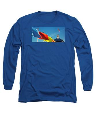 Redondo Beach Flags Long Sleeve T-Shirt