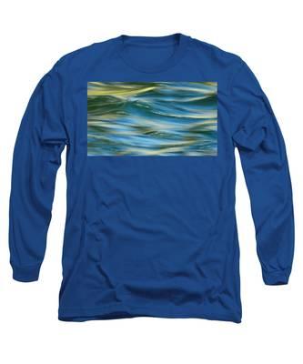 Sunlight Over The River Long Sleeve T-Shirt