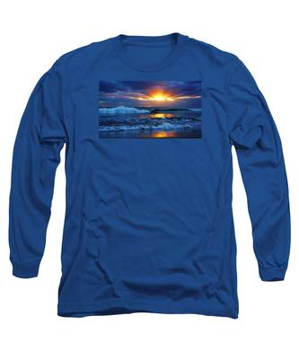 Sunrise Light Wave  Long Sleeve T-Shirt
