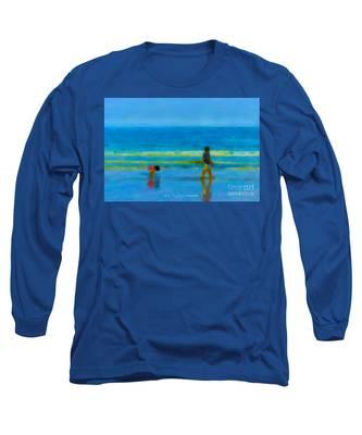Beach Blues Long Sleeve T-Shirt