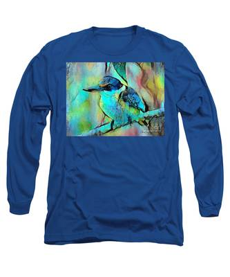 Kookaburra Blues Long Sleeve T-Shirt