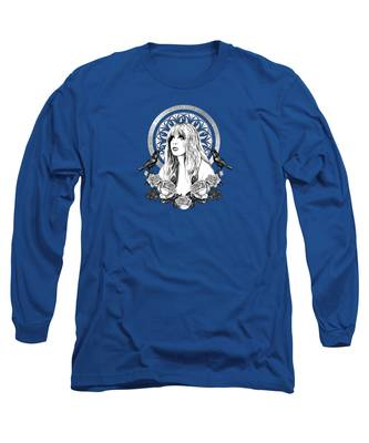 Stained Glass Long Sleeve T-Shirts