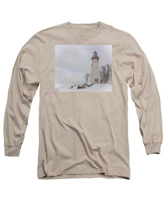 Marblehead Lighthouse Lake Erie Long Sleeve T-Shirt