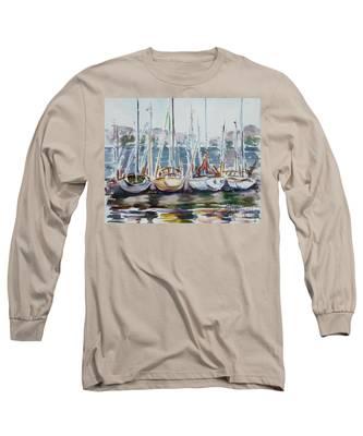 4 Boats Long Sleeve T-Shirt