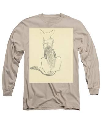 A German Shepherd Long Sleeve T-Shirt
