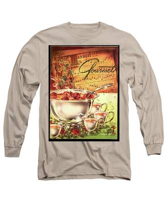 A Gourmet Cover Of Apples Long Sleeve T-Shirt