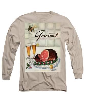 A Gourmet Cover Of Ham Long Sleeve T-Shirt