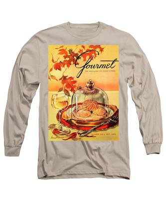 A Gourmet Cover Of Mushrooms On Toast Long Sleeve T-Shirt