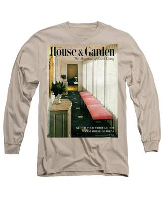 A House And Garden Cover Of A Hallway Long Sleeve T-Shirt