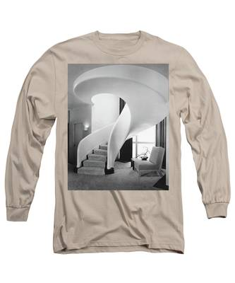 A Spiral Staircase Long Sleeve T-Shirt