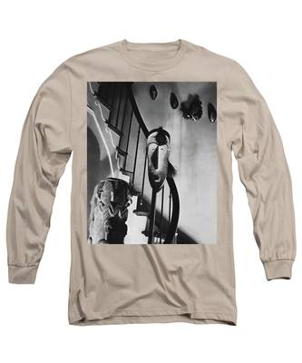 African Masks And Drums In Eugene O'neill's Long Sleeve T-Shirt