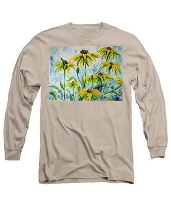Black Eyed Suzans Dream Long Sleeve T-Shirt
