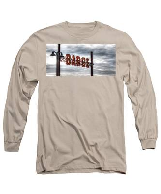 by The Barge Long Sleeve T-Shirt