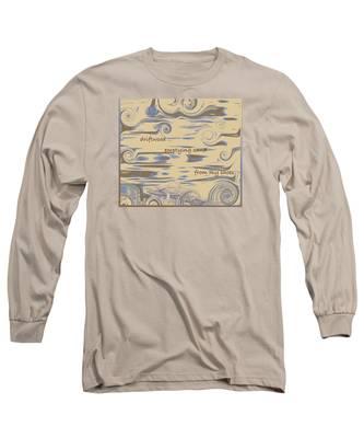 Driftwood Haiga Long Sleeve T-Shirt