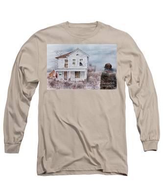 Frayed Long Sleeve T-Shirt