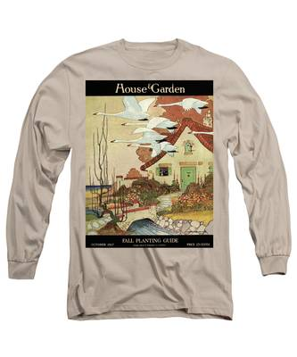 House And Garden Fall Planting Guide Long Sleeve T-Shirt