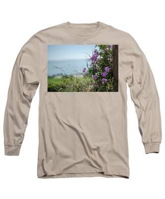 Mount Of Beatitudes Long Sleeve T-Shirt