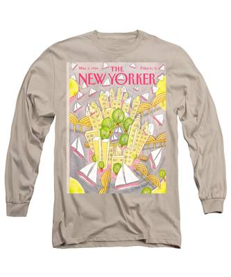 New Yorker May 2nd, 1988 Long Sleeve T-Shirt