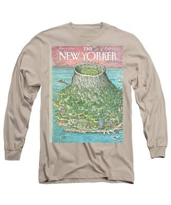 New Yorker November 19th, 1990 Long Sleeve T-Shirt