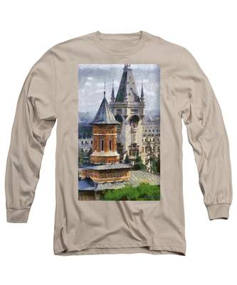 Palace Of Culture Long Sleeve T-Shirt