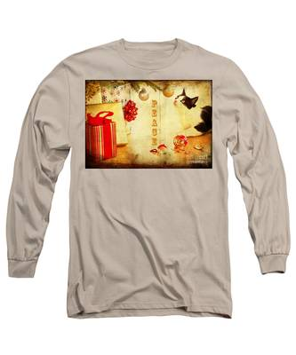 Peace And Joy To All Long Sleeve T-Shirt