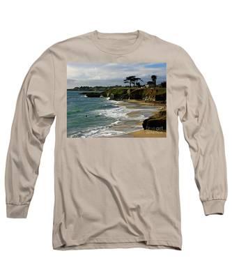 Santa Cruz Beach Long Sleeve T-Shirt