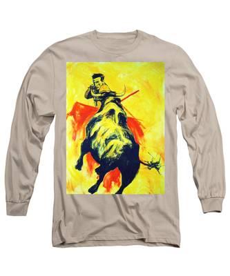 Spanish Bullfight Long Sleeve T-Shirt