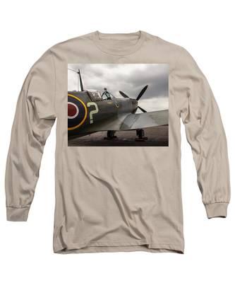 Spitfire On Display Long Sleeve T-Shirt