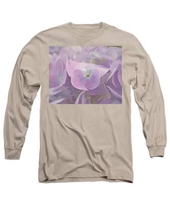 Symphony In Purple Long Sleeve T-Shirt