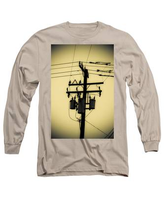 Telephone Pole 3 Long Sleeve T-Shirt