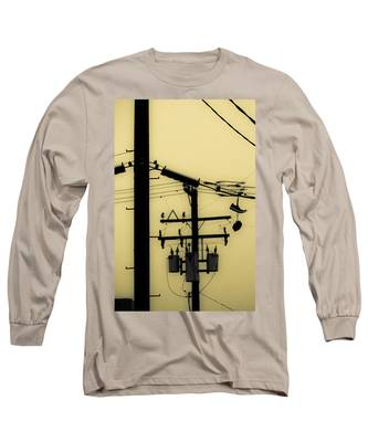 Telephone Pole And Sneakers 5 Long Sleeve T-Shirt