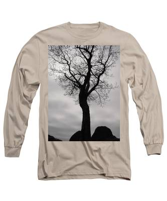 The Chill Of Spring In The Shenandoah Long Sleeve T-Shirt